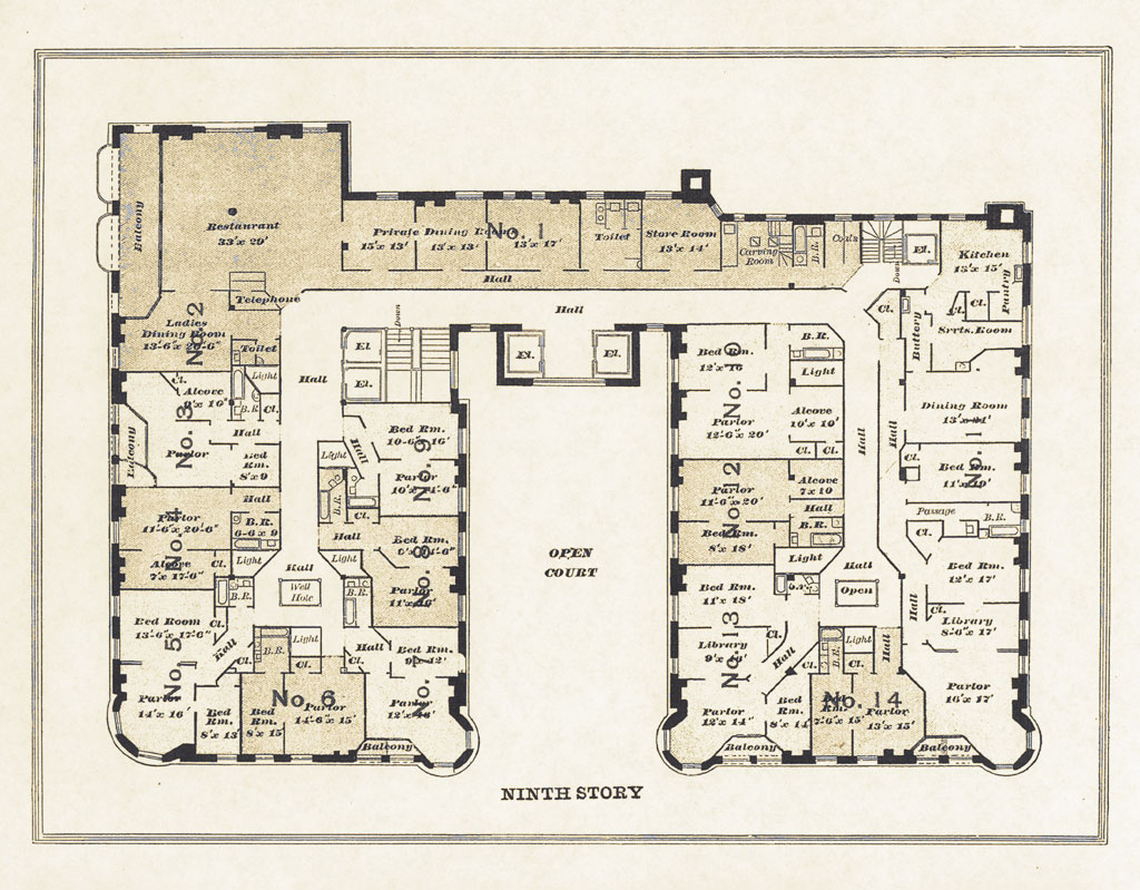 Apartment Building Architectural Plans the pullman state historic site : the company : the pullman building