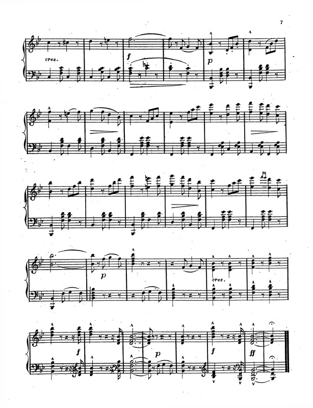 All Music Chords gnossienne no 1 sheet music : The Pullman Virtual Museum -- The Music of Pullman